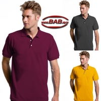 Workwear Polo Superwash brombeer, anthrazit, sun