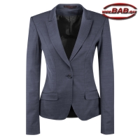 Greiff 1422 Damen Blazer modern slim fit in pin point marine