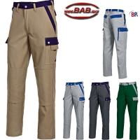 BP 1815 Bundhose BP Profil in sand, dunkelgrau,