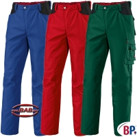 BP 1788 BPerformance Bundhose in blau, grün, rot