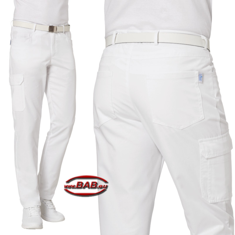Leiber 12-7722 Herrenhose aus Mischgewebe in Five-Pocket-Form