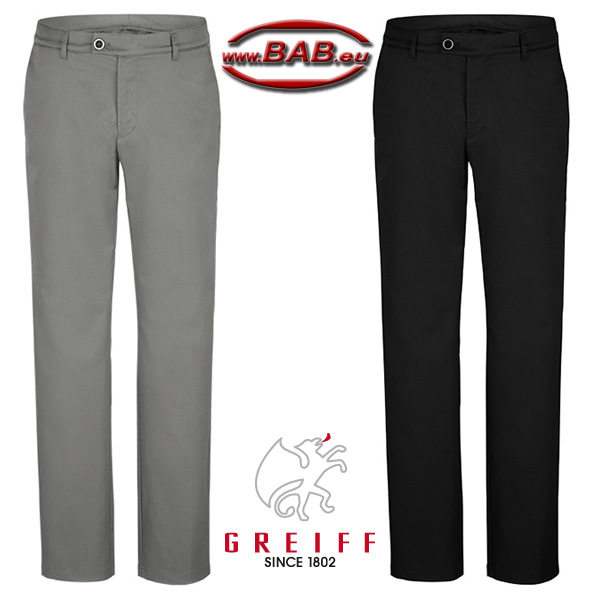 Greiff 1320 Herren Chino mit Stretch für optimale Passform