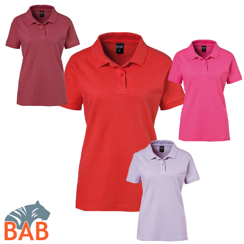 Exner 983 91 Damen Poloshirt Strong Collection  figurbetont