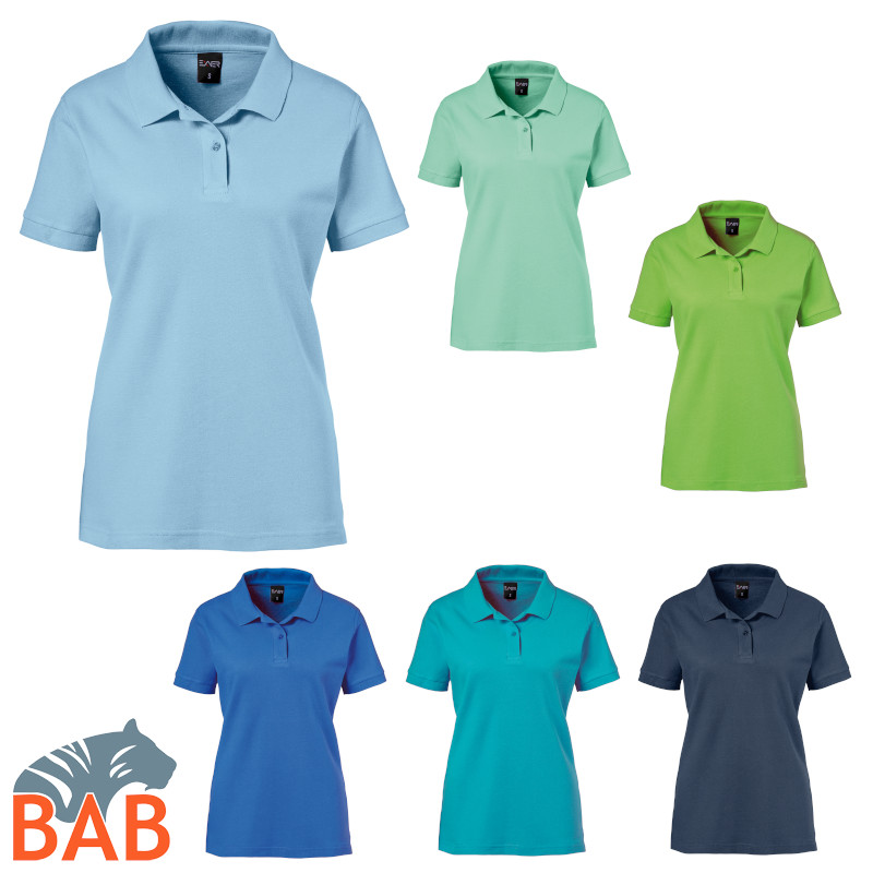 Exner 983 91 Strong Collection Poloshirt für Damen, figurbetonte
