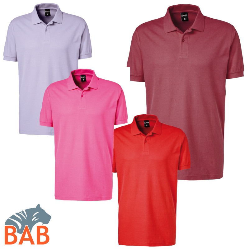 Exner 982 91 Poloshirt für Herren Strong Collection farbig