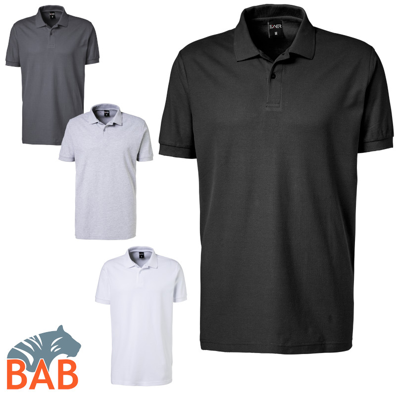 Exner 982 91 Strong Collection Herren Poloshirt aus Baumwolle
